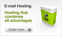 Sign up for your email hosting here
